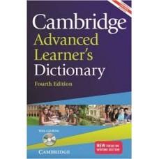 CAMBRIDGE ADV LEARNER'S DICTIONARY (3RD ED)