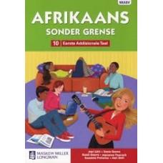 AFRIKAANS SONDER GRENSE EAT GR10 LB CAPS