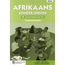 AFRIKAANS SONDER GRENSE EAT GR10 OG CAPS