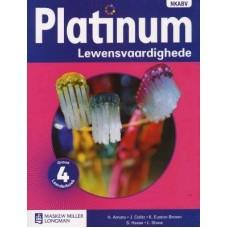 PLATINUM LEWENSVAARDIGHEDE GR4 LB CAPS