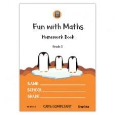 FUN WITH MATHS HOMEWORK BOOK 1 GR1