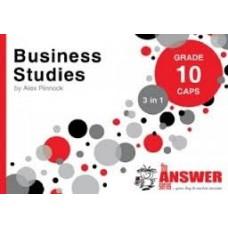 """BUSINESS STUDIES GRADE 10 """"3 IN 1"""""""