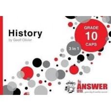 """HISTORY GRADE 10 """"3 IN 1"""""""